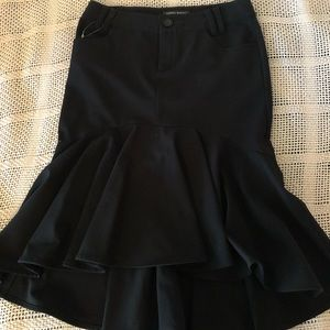 Bisou Bisou Mermaid Ruffle Skirt Size 2